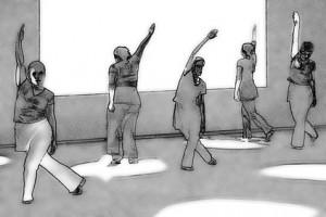 Grafik: Tanzende