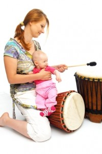 Foto: Frau mit Kind